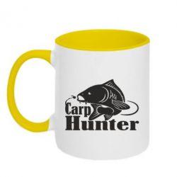 Кружка двоколірна 320ml Carp Hunter