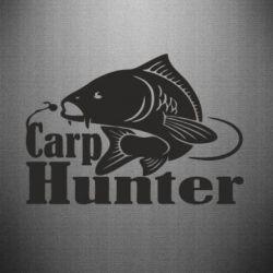 Наклейка Carp Hunter