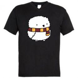 Мужская футболка  с V-образным вырезом Cartoon Buckle