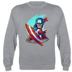 Реглан (свитшот) Cartoon Captain America