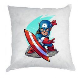 Подушка Cartoon Captain America - FatLine