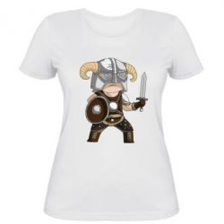 Женская футболка Cartoon Dragonborn