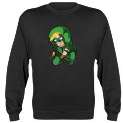 Реглан (свитшот) Cartoon Green Arrow - FatLine