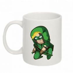 Кружка 320ml Cartoon Green Arrow