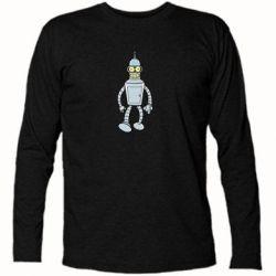 Купить Футболка с длинным рукавом Cartoons The Robot Bender, FatLine