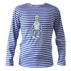 Тельняшка с длинным рукавом Cartoons The Robot Bender