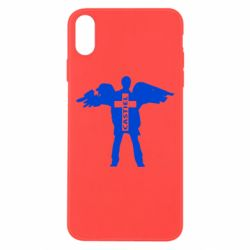 Чехол для iPhone Xs Max Castiel Angel