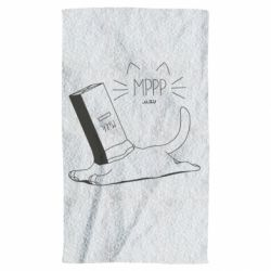 Полотенце Cat and a box of milk