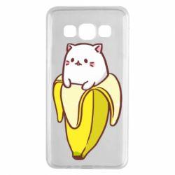 Чехол для Samsung A3 2015 Cat and Banana