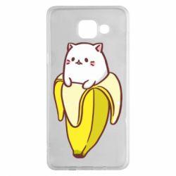 Чехол для Samsung A5 2016 Cat and Banana