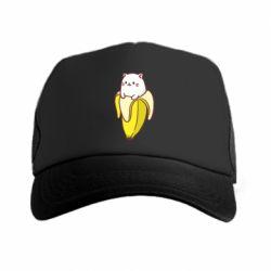 Кепка-тракер Cat and Banana