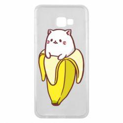 Чехол для Samsung J4 Plus 2018 Cat and Banana