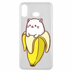 Чехол для Samsung A6s Cat and Banana