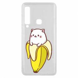 Чехол для Samsung A9 2018 Cat and Banana