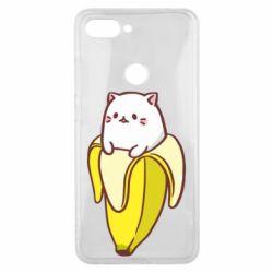Чехол для Xiaomi Mi8 Lite Cat and Banana