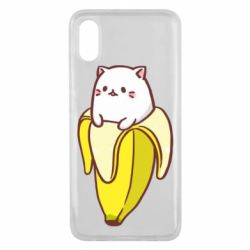 Чехол для Xiaomi Mi8 Pro Cat and Banana