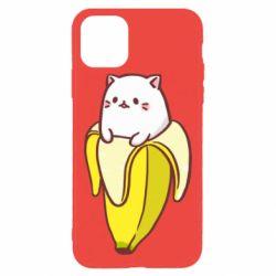 Чехол для iPhone 11 Pro Max Cat and Banana