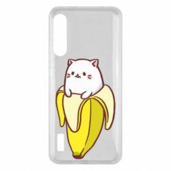 Чохол для Xiaomi Mi A3 Cat and Banana