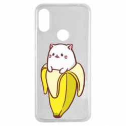 Чехол для Xiaomi Redmi Note 7 Cat and Banana