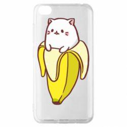 Чехол для Xiaomi Redmi Go Cat and Banana