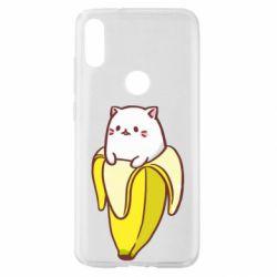 Чехол для Xiaomi Mi Play Cat and Banana