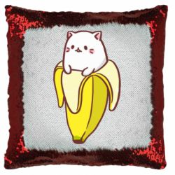 Подушка-хамелеон Cat and Banana
