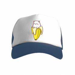 Детская кепка-тракер Cat and Banana