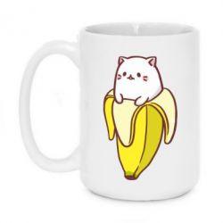 Кружка 420ml Cat and Banana