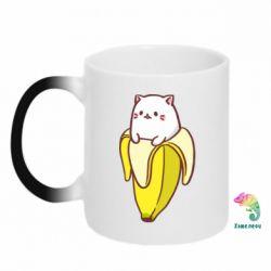 Кружка-хамелеон Cat and Banana