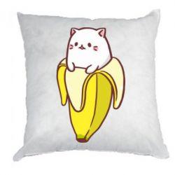 Подушка Cat and Banana