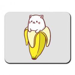 Коврик для мыши Cat and Banana