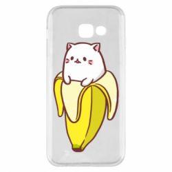 Чехол для Samsung A5 2017 Cat and Banana