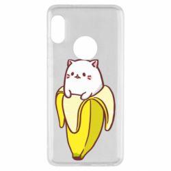 Чехол для Xiaomi Redmi Note 5 Cat and Banana
