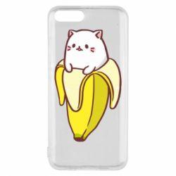 Чехол для Xiaomi Mi6 Cat and Banana