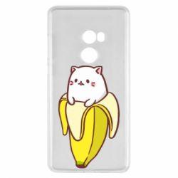Чехол для Xiaomi Mi Mix 2 Cat and Banana