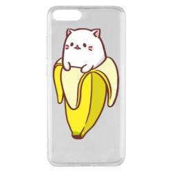 Чехол для Xiaomi Mi Note 3 Cat and Banana