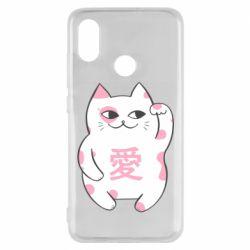 Чехол для Xiaomi Mi8 Cat and hieroglyphs
