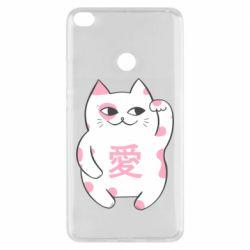 Чехол для Xiaomi Mi Max 2 Cat and hieroglyphs