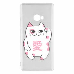 Чехол для Xiaomi Mi Note 2 Cat and hieroglyphs