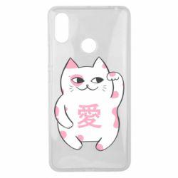 Чехол для Xiaomi Mi Max 3 Cat and hieroglyphs