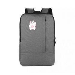 Рюкзак для ноутбука Cat and hieroglyphs