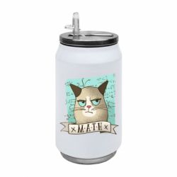 Термобанка 350ml Cat and Math