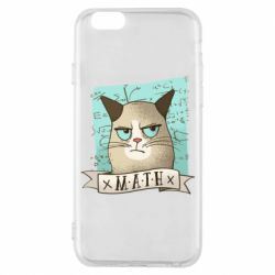Чехол для iPhone 6/6S Cat and Math