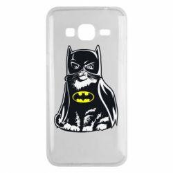 Чохол для Samsung J3 2016 Cat Batman