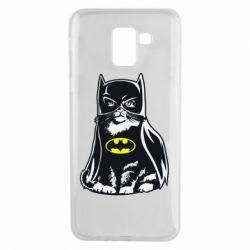 Чохол для Samsung J6 Cat Batman