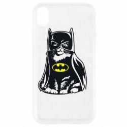 Чохол для iPhone XR Cat Batman