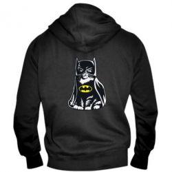 Мужская толстовка на молнии Cat Batman - FatLine