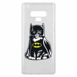 Чохол для Samsung Note 9 Cat Batman