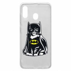 Чохол для Samsung A20 Cat Batman