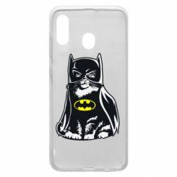 Чохол для Samsung A30 Cat Batman
